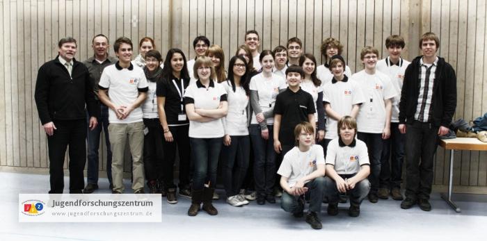 JFZ Gruppenfoto Jufo 2012