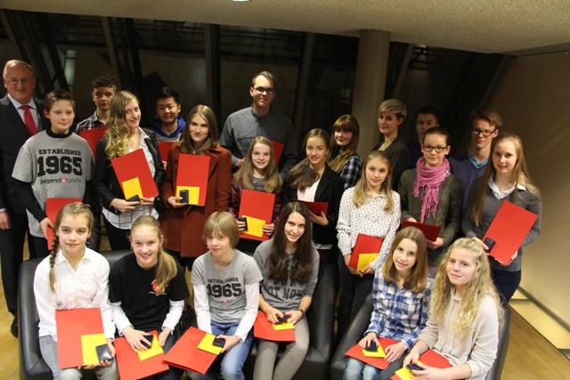 Ehrennadel 2015