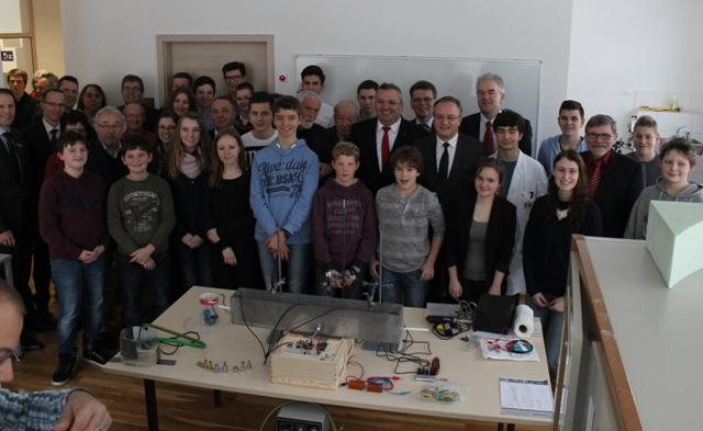 Hoher Besuch im JFZ: Kultusminister Andreas Stoch!